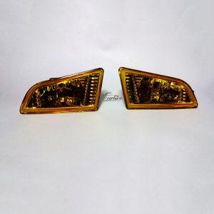 پرژکتور پراید 111 و 132 شیشه زرد